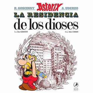 ASTERIX 17 LA RESIDENCIA DE LOS DIOSES