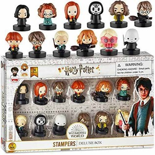 SELLOS HARRY POTTER PACK X12 HP5065 01 DELUXE BOX