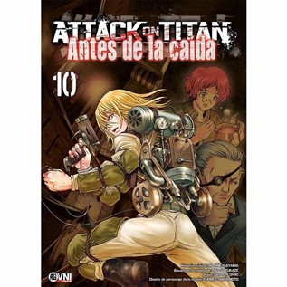 ATTACK ON TITAN: ANTES DE LA CAIDA 10