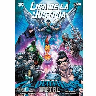 LIGA DE LA JUSTICIA DEATH METAL