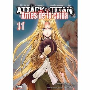 ATTACK ON TITAN: ANTES DE LA CAIDA 11