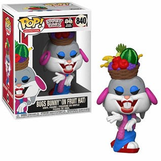 FPALTB80 840 BUGS BUNNY IN FRUIT HAT FUNKO POP ANIMATION LOONEY TUNES BUGS 80TH