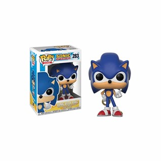 FPGS 283 SONIC WITH RING FUNKO POP GAMES SONIC