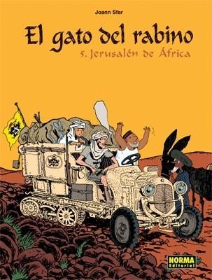 EL GATO DEL RABINO 5. JERUSAL N DE  FRICA
