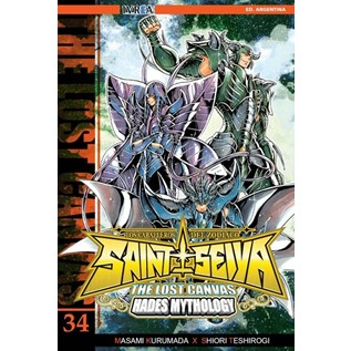 SAINT SEIYA THE LOST CANVAS 34