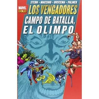 LOS PODEROSOS VENGADORES 10. EL CAMPO DE BATALLA