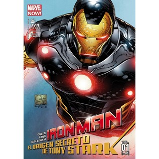 IRON MAN MARVEL NOW 02 EL ORIGEN SECRETO DE TONY STARK