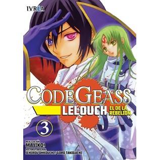 CODE GEASS: LELOUCH, EL DE LA REBELION 03 (COMIC)