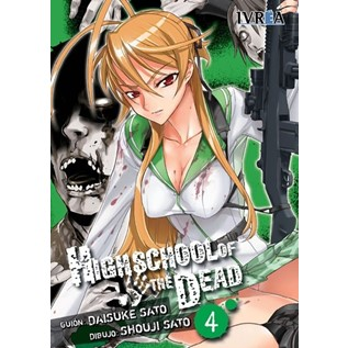 HIGH SCHOOL OF THE DEAD 04