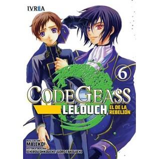 CODE GEASS: LELOUCH, EL DE LA REBELION 06 (COMIC)