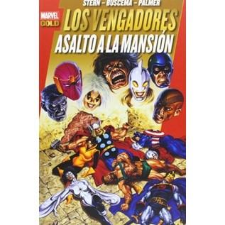 LOS PODEROSOS VENGADORES 09: ASALTO A LA MANSION