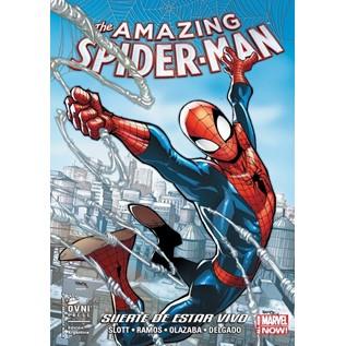 AMAZING SPIDER-MAN 01: SUERTE DE ESTAR VIVO
