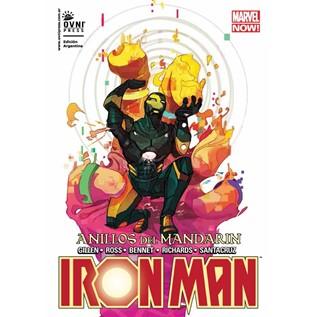 IRON MAN MARVEL NOW 05: ANILLOS DEL MANDARIN