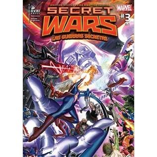 SECRET WARS 16: LAS GUERRAS SECRETAS 03